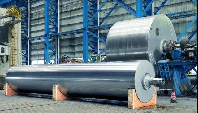 安德里茨中国首台PrimeDry钢制烘缸顺利出厂